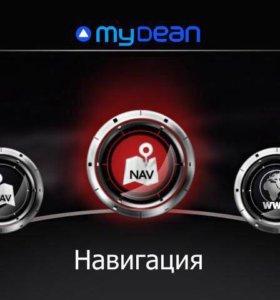 Штатная навигация для автомобилей Mazda