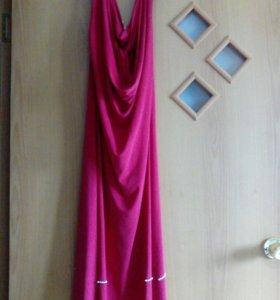 Платье шелк(стрейч),с открытой спиной