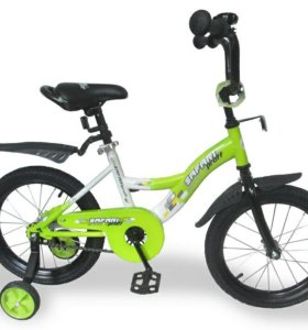 """Велосипед """"16"""" SAFARI PROFF GEOMETRY ,салатовый"""