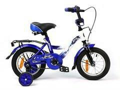 """Велоспорт """"14"""" SAFARI PROFF стихии, синий"""