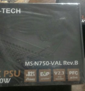 Блок питания MS-Tech MS-N750VAL