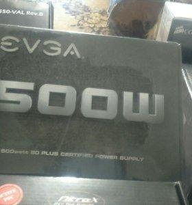 Блок питания EVGA 500W 500 Watt