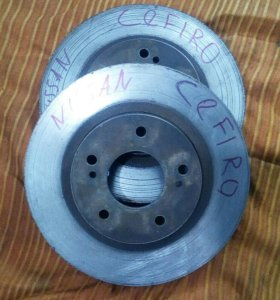 Тормозные диски передние, Nissan Cefiro .
