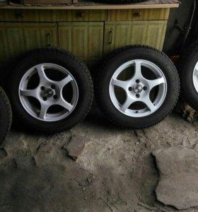 Продам колеса зима р14