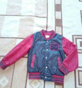 Куртка для мальчика на рост 110