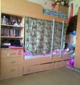 Кровать 2-х яруссная.