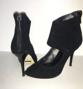Туфли замшевые рр 37-38