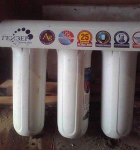 Очищающий фильтр для воды.