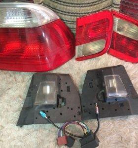 Задние фонари BMW 3. Прокладка и втулки Audi A3