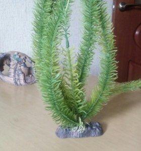 Искусственные растения для аквариума.