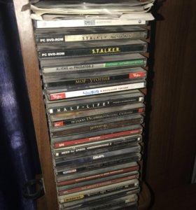 DVD-диски с играми (разные)