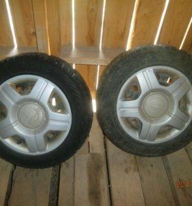 2 колеса R14 цена за оба