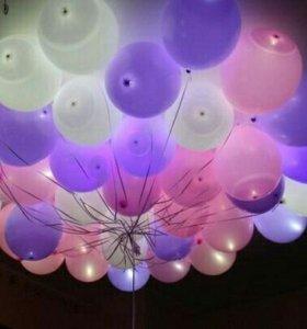 Гелиевые светящиеся шары