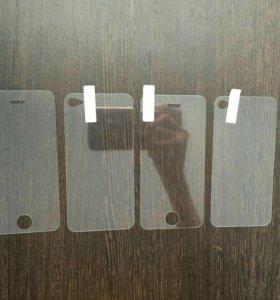 Комплект Стёкл на iPhone 4 вперед и назад