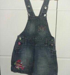 Сарафаны джинсовые