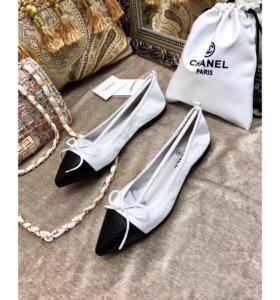 Балетки Chanel 🐼