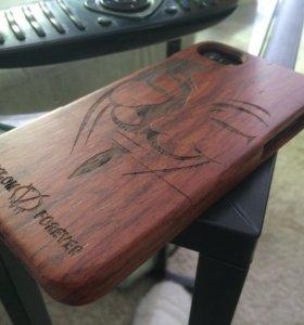 Чехол iPhone 7 из дерева