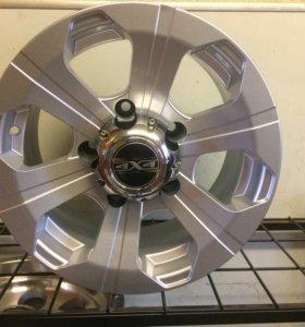 Новые литые диски на уаз, нива, соболь R15