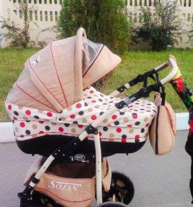 Детская коляска Zippi 2в1
