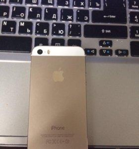 Айфон 5s gold