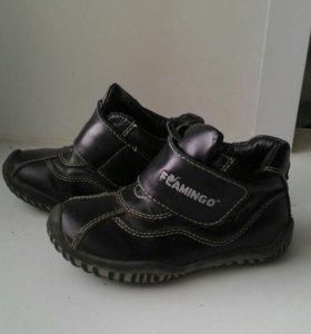 Ботиночки демисизонные на мальчика 23 размер