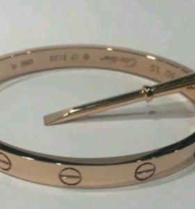 Cartier браслет