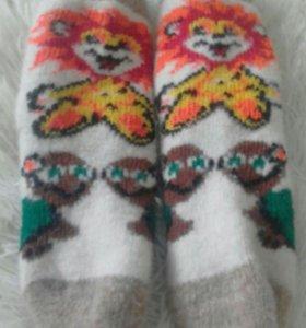 Носки шерстянные