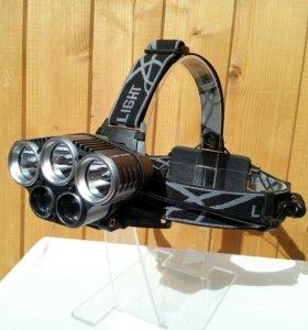 Налобный фонарь - 5 диодов