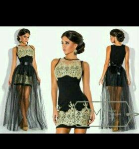 Платье вечернее (новое) на новый год