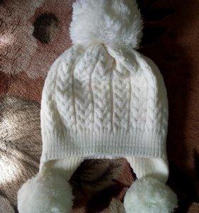 Тёплая шапка + шарф