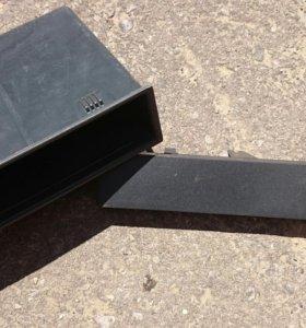 Газлушка проёма для магнитолы ваз 2114