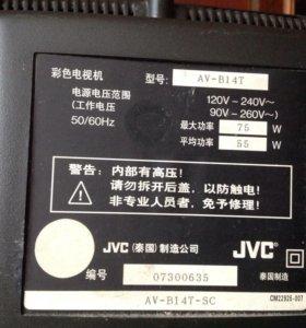 Телевизор jvc AV -B14T