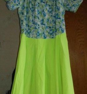Новое яркое платье