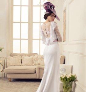 Свадебное платье дизайнера Татьяны Каплун р.42