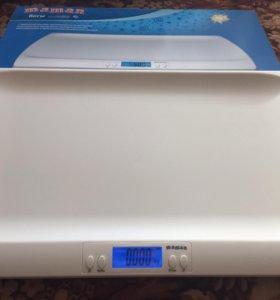 Детские электронные весы maman новые