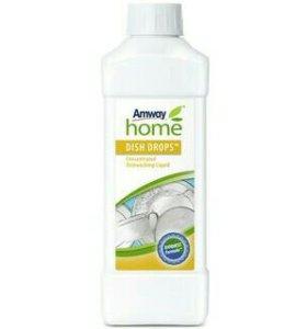 Концентрированная жидкость для мытья посуды Амвей