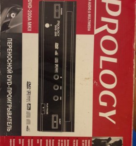 Переносной DVD проигрыватель