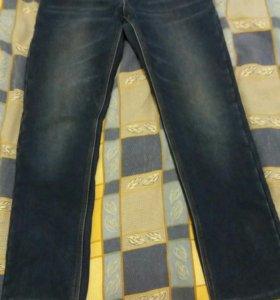 Мужские  утепленные джинсы