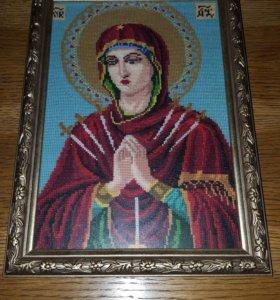 Иконы Богородица Семистрельная и Божьей Матери
