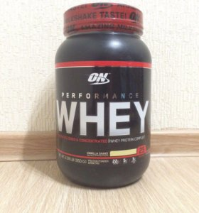 On whey perfomance