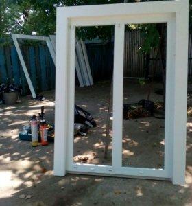Окна,двери,остекление и утепление балконов лоджий