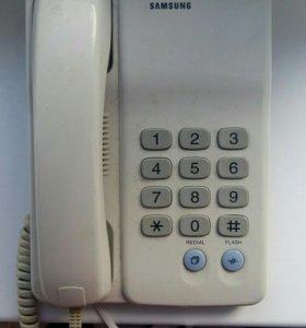 Проводной стационарный телефон. Samsung