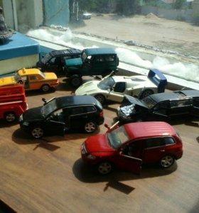Модели автомобилей разных масштабов