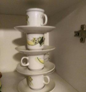 Кружки  для кофе набор