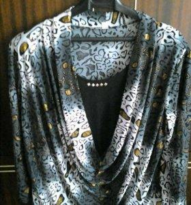 Блуза 2в1 новая