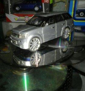 Модель а/м Range Rover Sport( Saico) 1:43
