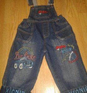 джинсовый комбенизон