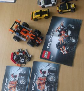 Машинки Lego Racers, Technic