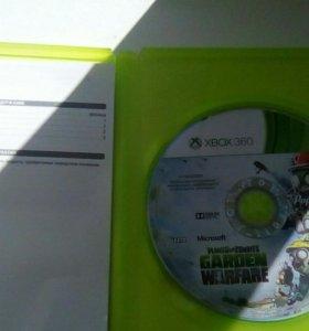 Игра на xbox 360 plant vs zombie garden warfare
