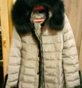 Зимнее пальто пух /перо